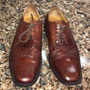 mens johnston & murphy dress shoes
